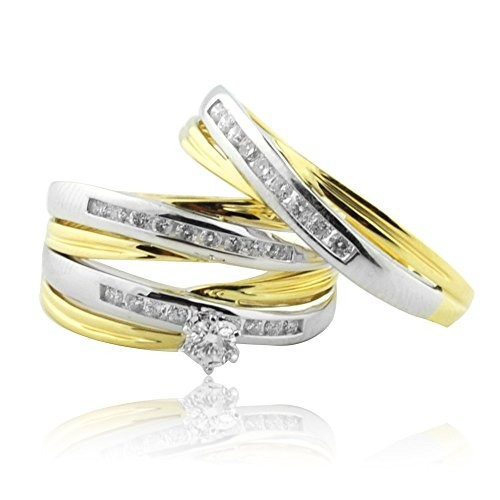 How to Select the Best Trio Wedding Sets for Him and Her?