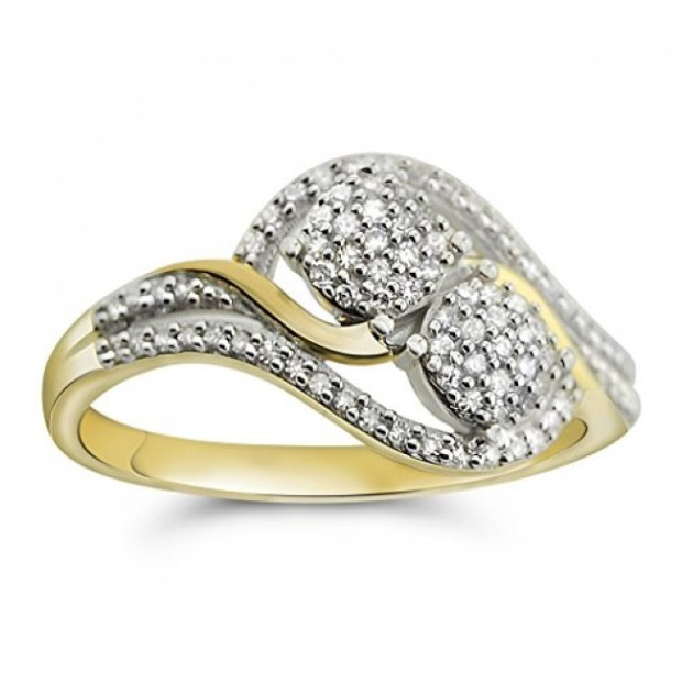 Gold Engagement Rings For Her