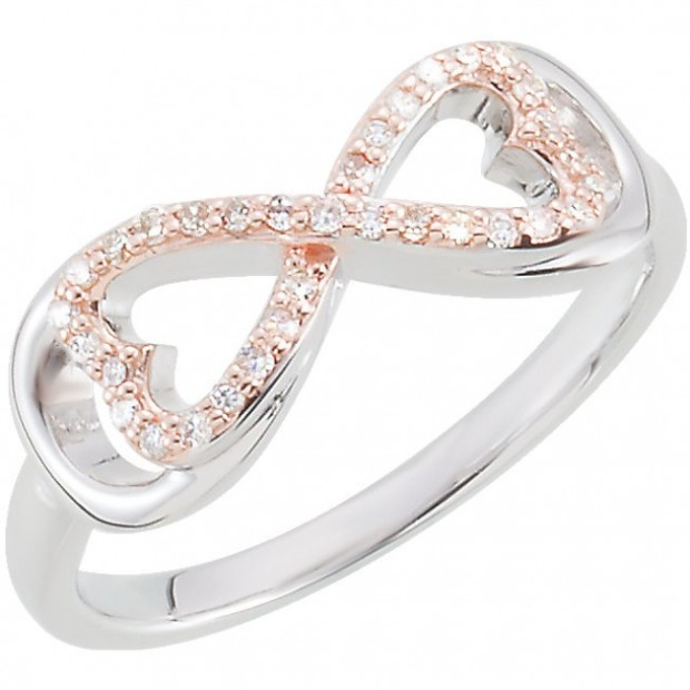 Halo Rose Gold Engagement Rings