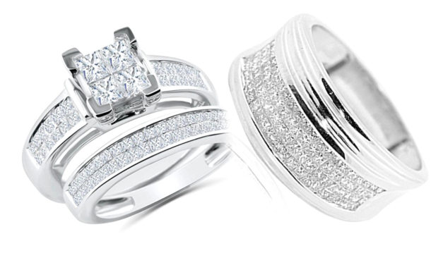 High Quality Matching His and Hers rings Set options from MidwestJewellery